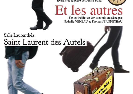 Affiche de la pièce de théâtre jouée par les Uns Sans C en mars 2018