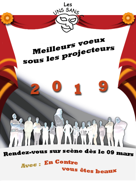 voeux nouvel an 2019 Uns Sans C